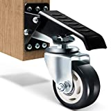 SOLEJAZZ Juego de ruedas para banco de...