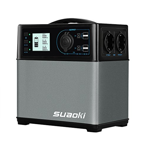 SUAOKI - 400Wh/120,000mAh Generador Portátil...