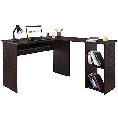 COMIFORT Escritorio Forma L - Mesa de Estudio...