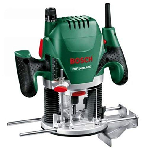 Bosch POF 1400 ACE - Fresadora de superficie...