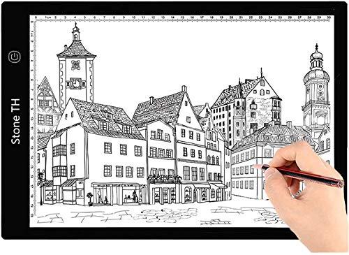Mesa de Luz Dibujo A4, LED Tableta de Luz de...