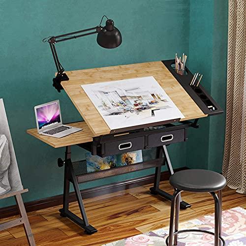 Dripex Mesa de Dibujo Profesional con Tablero...