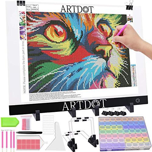 ARTDOT Mesa de Luz Dibujo A3 Tableta de Luz,...