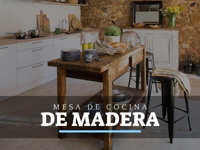 Mejores Mesas de Trabajo de Cocina de madera