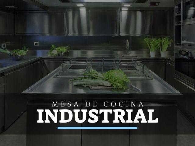 Mejores Mesas de Trabajo de Cocina industriales