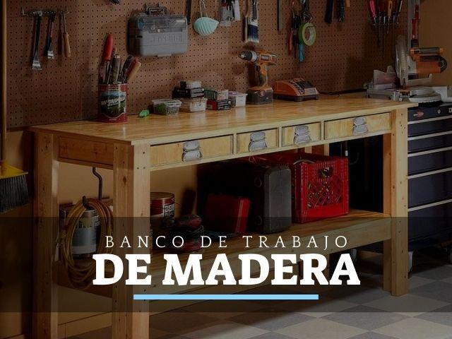 Los 5 mejores Bancos de Carpintero de Madera